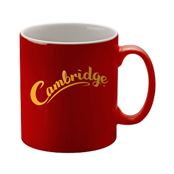 Red Cambridge Ceramic Duo Mug